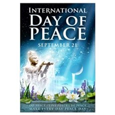 Peace Day 23 x 35 Canvas Art