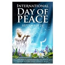 Peace Day 23 x 35 Poster