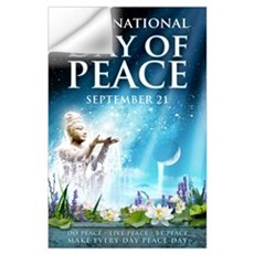 Peace Day 23 x 35 Wall Decal