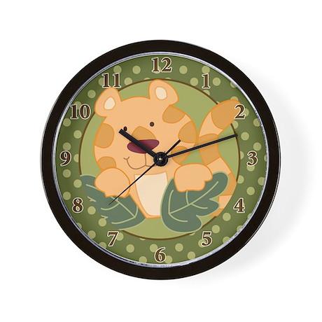 Tiger Jungle Safari Wall Clock