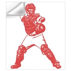 Yadi throwing Wall Decal