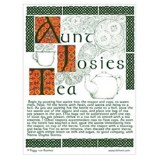 Aunt Josies Tea Canvas Art