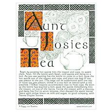 Aunt Josies Tea Poster