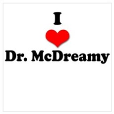 I Heart Dr. McDreamy Poster