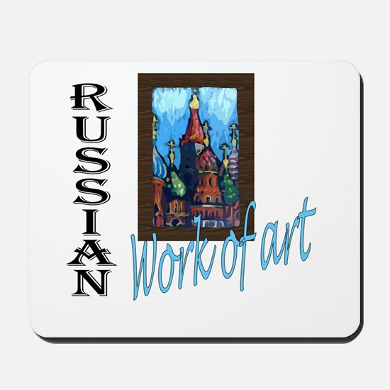 Russian WOA Mousepad