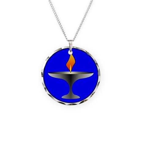 Chalice Necklace Circle Charm