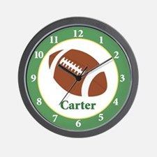 Football Sports Wall Clock - Carter