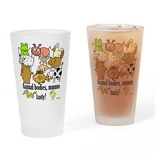 Unique Pig and chick Drinking Glass