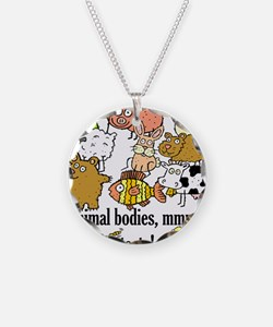 Unique Pig and chick Necklace
