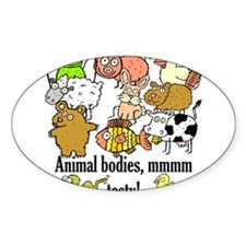 Cute Pig and chick Decal