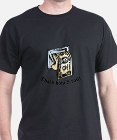 Cool Roll toilet paper T-Shirt