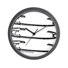 3 Pins to the Wind Wall Clock