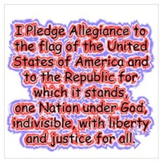Pledge Allegiance Poster