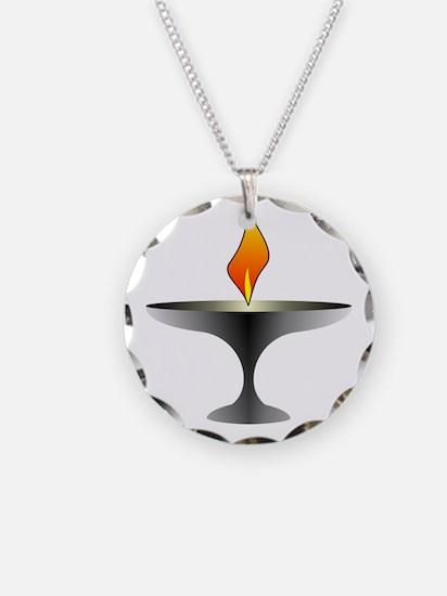 Unitarian Universalist Necklace Circle Charm