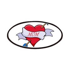 Mom Heart Patches