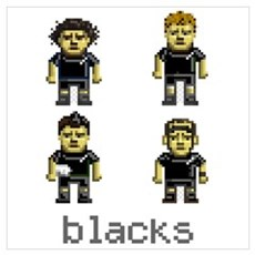 Blacks New Zealand Rugby Poster