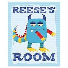 Reese's ROOM Mallow Monster Poster