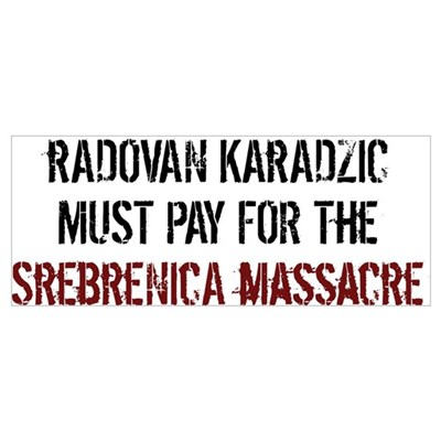 Radovan Karadzic Arrestment Canvas Art
