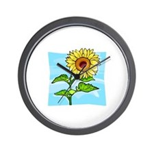 Sunflower902 Wall Clock