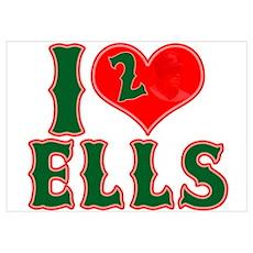 I Heart Ells Poster