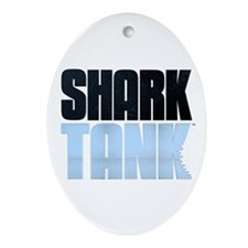 Shark Tank Ornament (Oval)