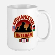 Afghanistan Veteran Flags Mug