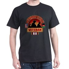 Afghanistan Veteran Flags T-Shirt