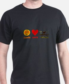 Peace Love Hunting T-Shirt