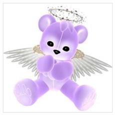 PURPLE ANGEL BEAR 2 Poster
