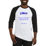 Linux Gets Better Baseball Jersey