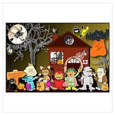 "ASL-based ""Halloween Town"" Poster"