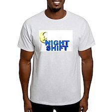 Night Shift Ash Grey T-Shirt