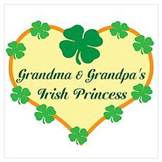 Irish Princess/Grandma/Grandp Poster