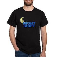 Night Shift Black T-Shirt