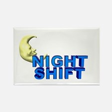 Night Shift Rectangle Magnet