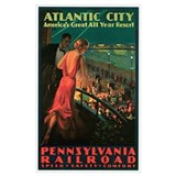 Vintage atlantic city Posters