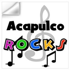 Acapulco Rocks Wall Decal
