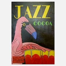 Flamingo Conga Drummer