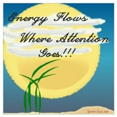 Energy Flows Where Attention Poster