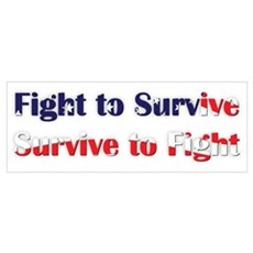 Fight to survive Poster