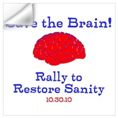 Save the Brain! Wall Decal