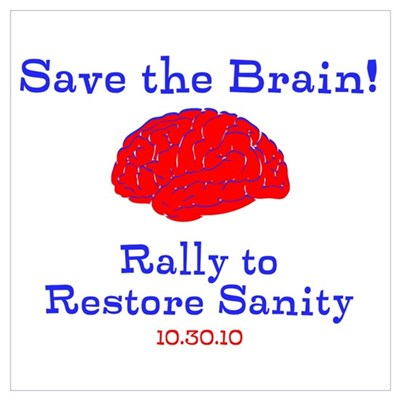 Save the Brain! Poster