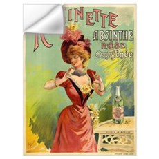 Absinthe Rosinette Wall Decal