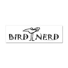Birdwatching Car Magnet 10 x 3