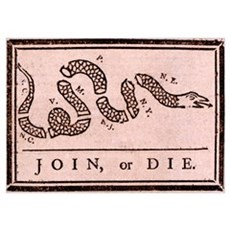 """Join or Die!"" Poster"