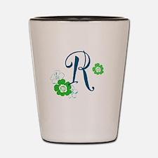 Letter R Shot Glass