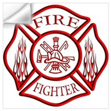 Firefighter Wall Decal