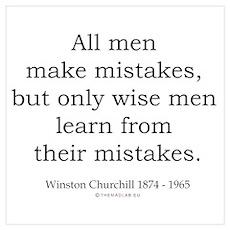 Winston Churchill 22 Poster