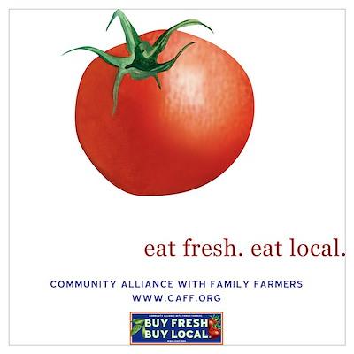 Eat Fresh Tomato Poster