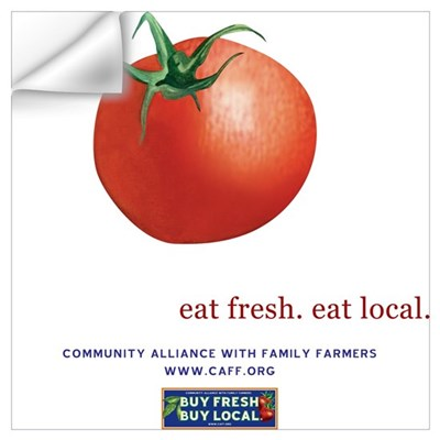 Eat Fresh Tomato Wall Decal